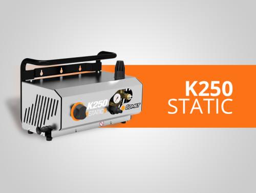test k250 static